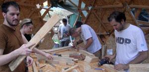 Preparazione triangoli geodetici