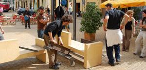 rivendicando spazio pubblico