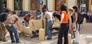 Acción urbana participativa