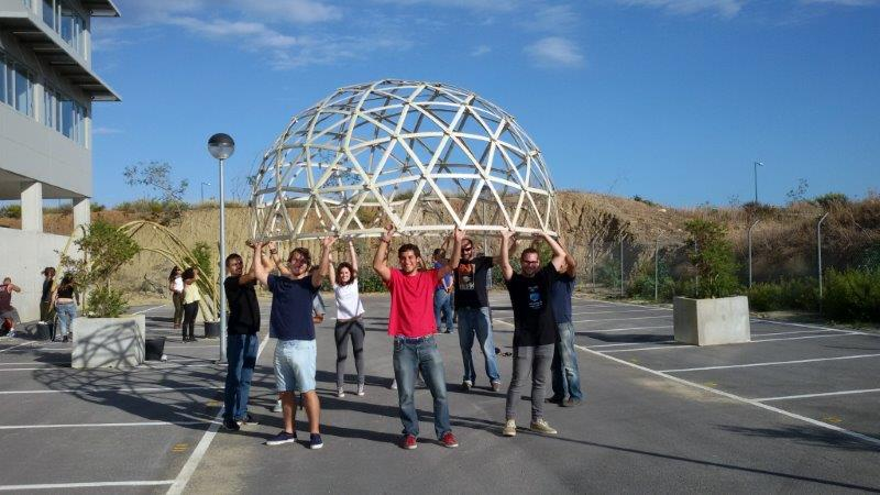geodesic course
