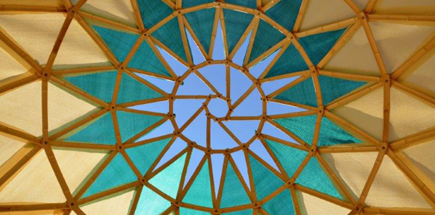 zome domo cupula geodesico geodesica Ctrl+Z arquitectura