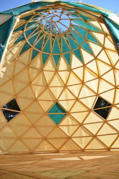 geodesica zome meditación yoga mandala espacio arquitectura ctrl+z