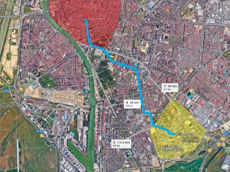 Seville social architecture Polígono Sur