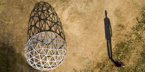 cúpula geodésica pallet