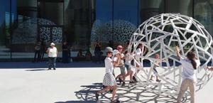 corso laboratorio infantile come costruire apprendere imparare a costruire domo cupola geodetico