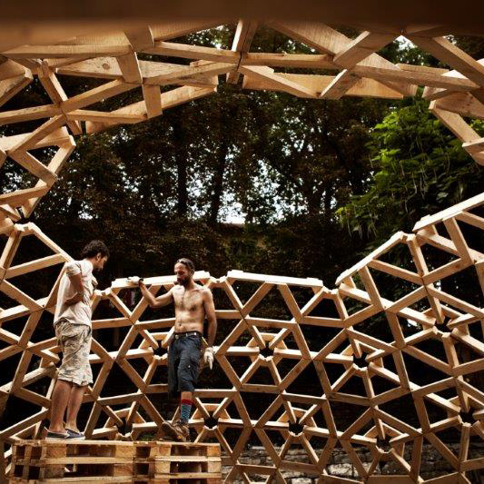 workshop selfbuild geodesic structure