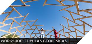 como construir estructura geodésica